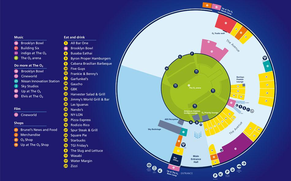 The-O2-venue-map-2015-North-Greenwich